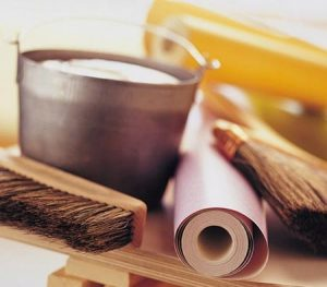 wallpaper installation supplies