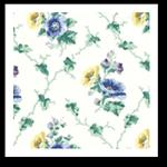 Vintage Floral Wallpaper Border