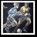 Vintage Sports Wallpaper & Border
