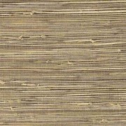 Dark Beige Grasscloth Wallpaper 15a