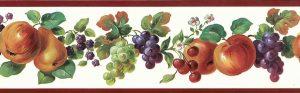 Fruit Medley Vintage Wallpaper Border