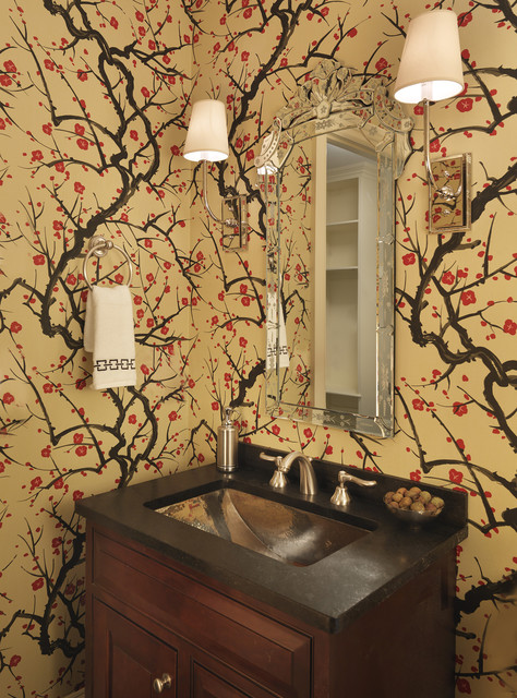 Bathroom powder room renovation