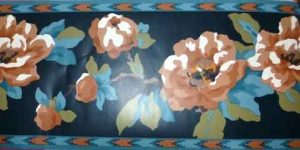 Southwestern Floral Wallpaper Border by Waverly