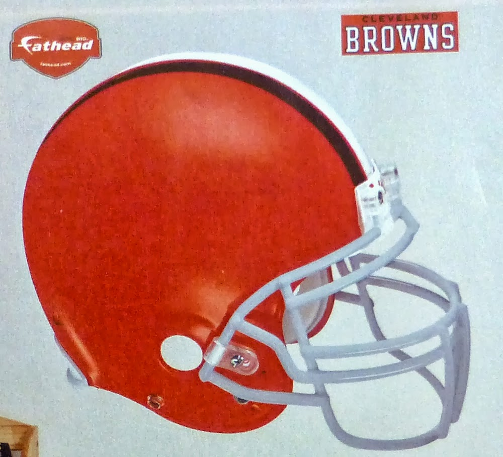 Ohio's Cleveland Browns Fathead