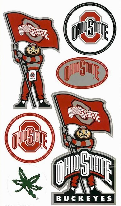 Ohio State Buckeyes Wall Decals Holiday Gift Ideas
