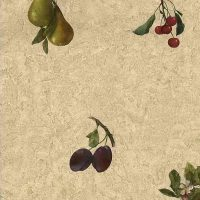 cherries vintage wallpaper grapes pears