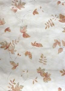 Fall leaves vintage wallpaper,brown, green, cream, maple, oak, beech