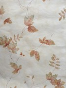 Wallpaper with Brown Green Fall leaves