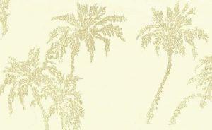 Cream embossed leaves wallpaper,textured