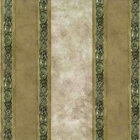 beige green striped vintage wallpaper, beige, faux finish, olive, UK
