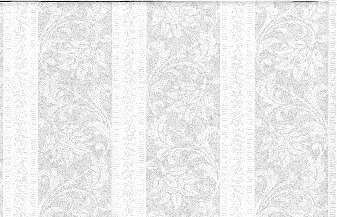 Striped wallpaper white
