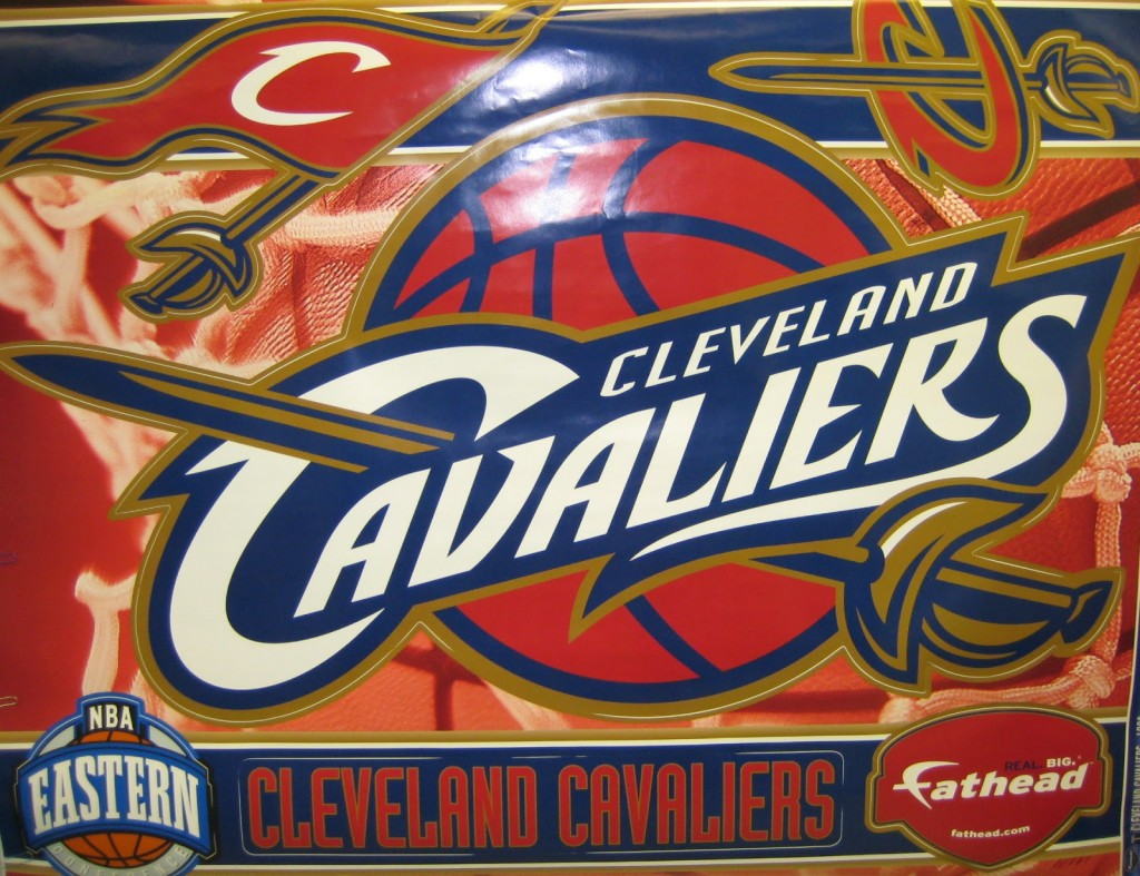 Cleveland Cavaiiers Fathead Wall Decals as Holiday Gift Ideas