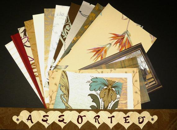 Assorted Variety Craft & Scrapbooking Wallpaper Pak