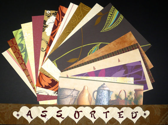 Assorted Variety Craft & Scrapbooking Wallpaper Pak Example