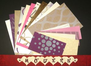 Modern / Contemporary Craft & Scrapbooking Wallpaper Pak Example