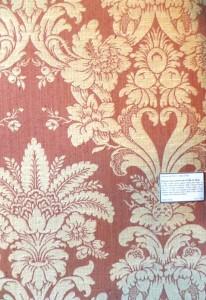 Damask Wallpaper Pattern in Paris