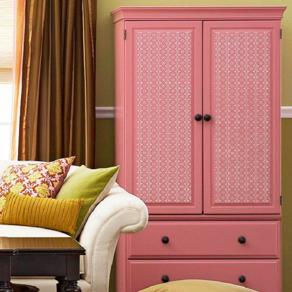 transform furniture, wallpaper