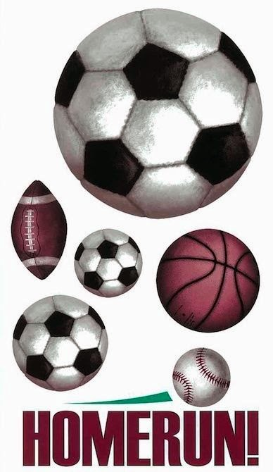 Soccer Sports Wall Decals