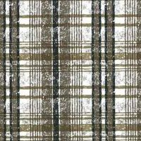 Vintage Brown Plaid Wallpaper With Black & White
