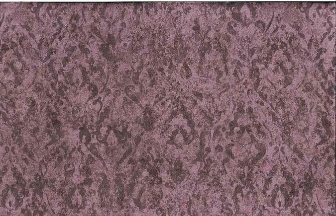Purple Damask Vintage Wallpaper