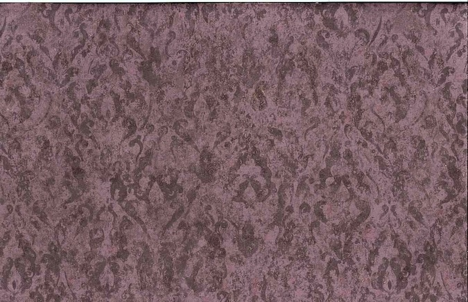 Vintage Purple Damask Wallpaper Pattern