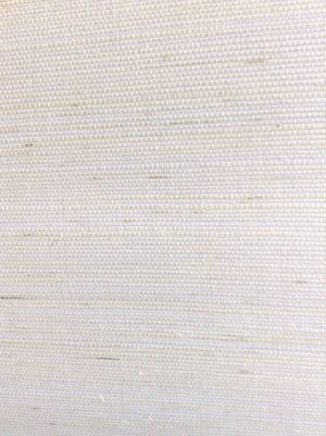 White Grasscloth Wallpaper