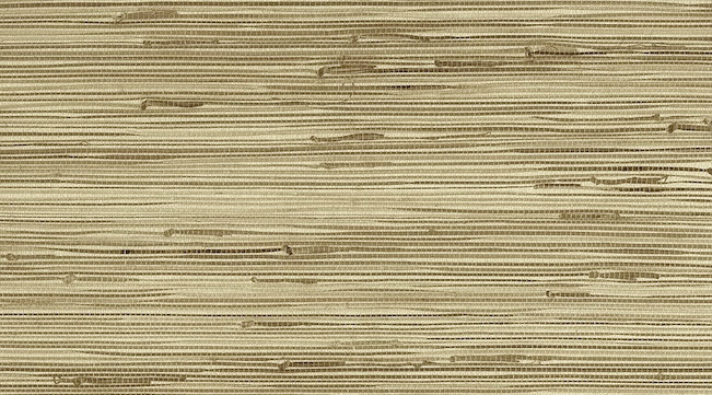 Medium Beige Grasscloth Wallpaper