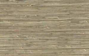 Dark Beige Grasscloth Wallpaper 15