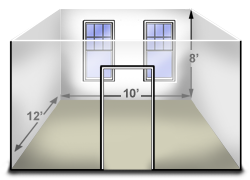 How to measure your room for wallpaper