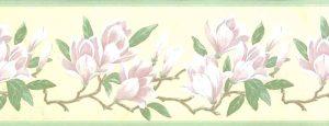 magnolia vintage wallpaper border