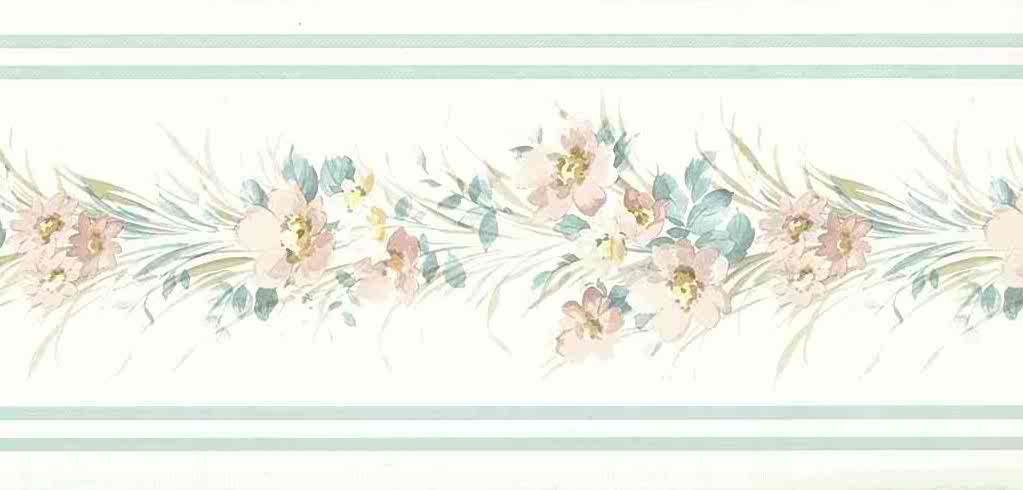floral wallpaper border 941fr - photo #21