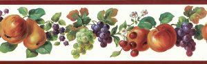 Fruit Medley Vintage Wallpaper Border