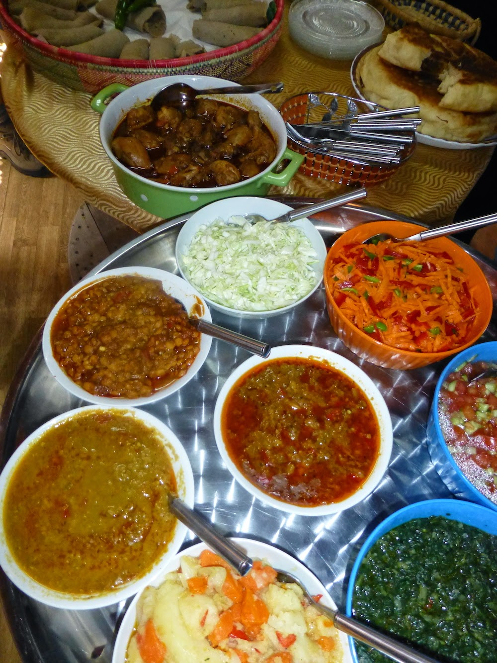 Food for Thought: Traditional Ethiopian Food