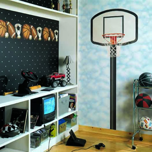 unique sports theme room
