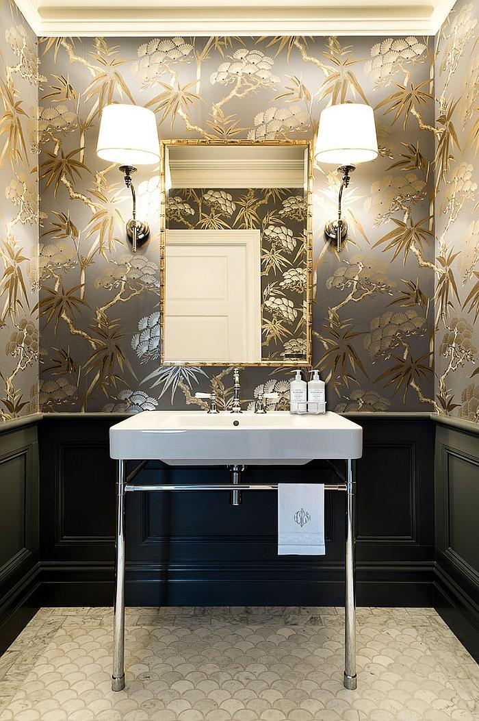 Bathroom Powder Room Makeover