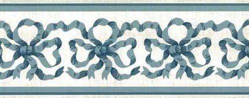 Blue Ribbon Wallpaper Border by Waverly