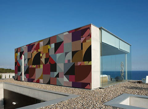 Outdoor Wallpaper Adds Color And Design To Exterior Surface
