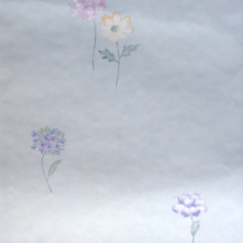 Pastel floral vintage wallpaper pink green blue uk 53403 drs mightylinksfo