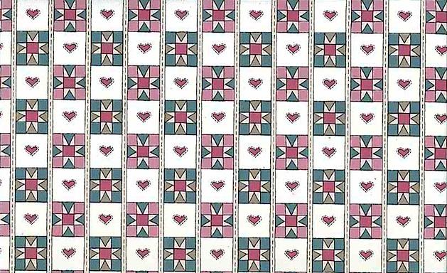 Checkerboard Plaid Vintage Wallpaper