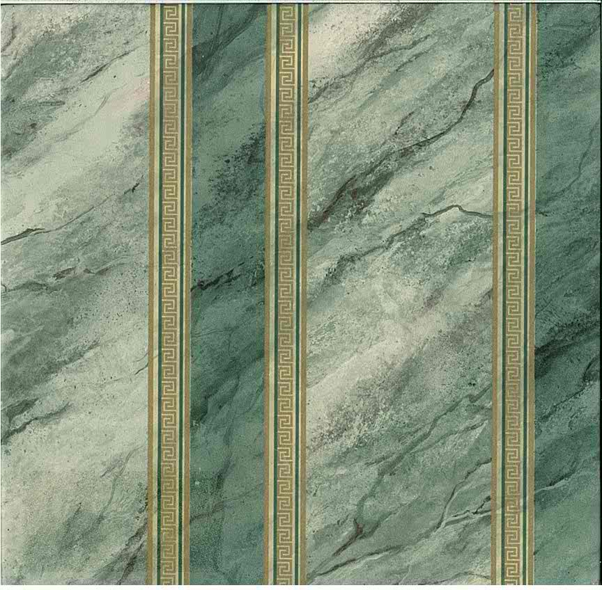 Faux Marble Textured Striped Vintage Wallpaper