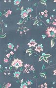 Waverly floral vintage wallpaper, English cottage, gray, rose, pink green, taupe