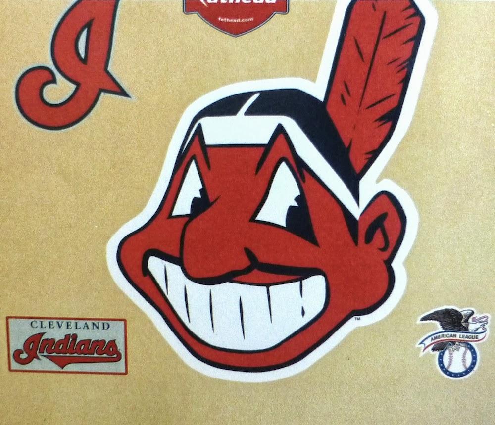 Ohio Cleveland Indians Fathead