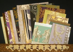 Classical Wallpaper for Scrapbooking and Crafts