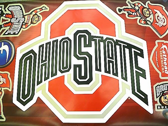 Ohio State Buckeyes Logo Wall Decals