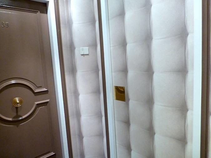 3D Wallpaper Pattern in Paris Hotel