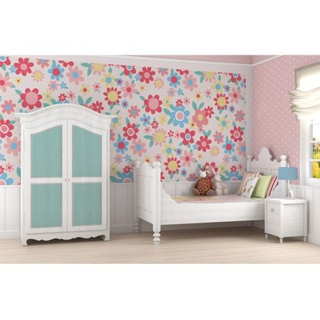 Summer Themed Wallpaper adds brightness, pink, orange, yellow