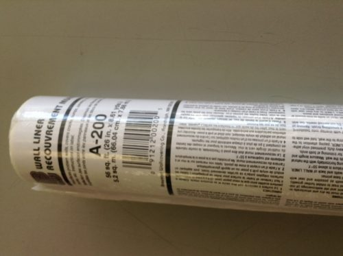 Wallpaper Wall Liner Heavy Duty, Brewster, 27 inches wide, white