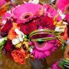 Radiant Orchid Floral Arrangement