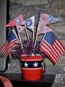 July Flag Patriotic Wallpaper Crafts