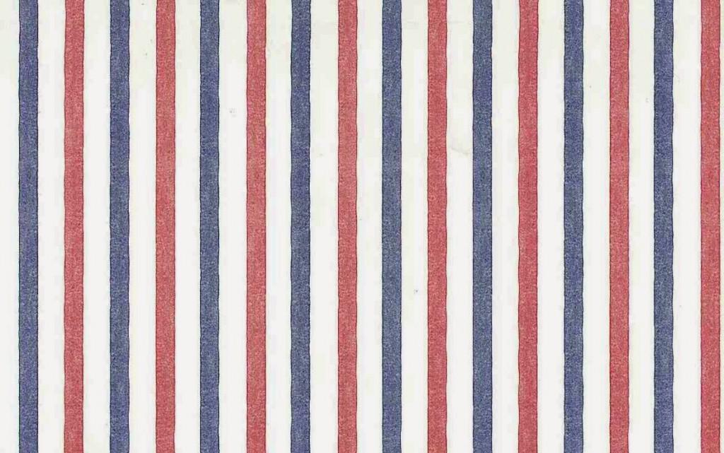 Red White Blue Striped Wallpaper